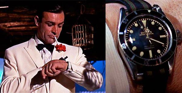 Goldfinger (1964) - Rolex Submariner - Sean Connery