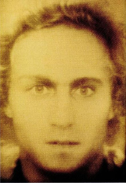 Facial composite of Mozart, circa 1777, created by the German Federal Criminal Police Office from four contemporary portait paintings.