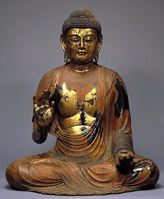 Statue BOUDDHA au Japon (10 04 2006)