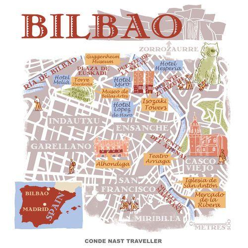 Robert Littleford - Map of Bilbao
