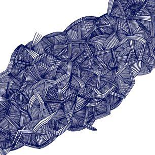 blue lines by Magdalla Del Fresto