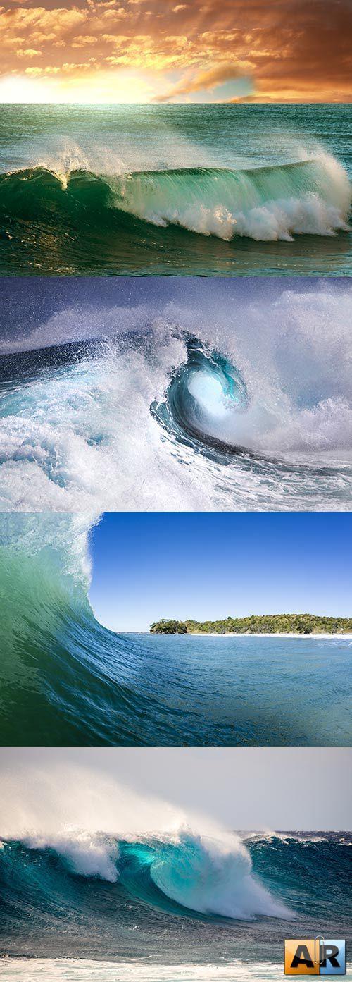 Растровый клипарт - Морские волны