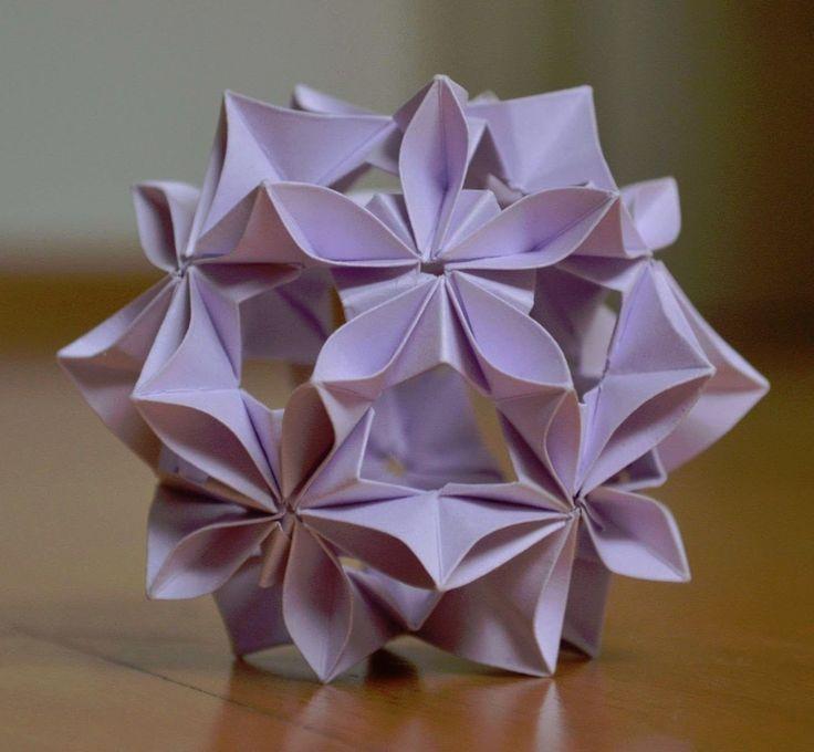 Kusudama Infinity Origami BallOrigami PaperFun
