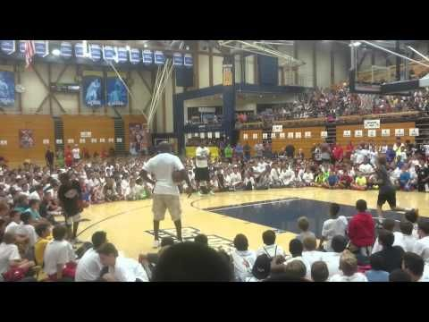 Michael Jordan and Jimmy Butler Take Part in Shooting Contest at Youth Camp | Bleacher Report