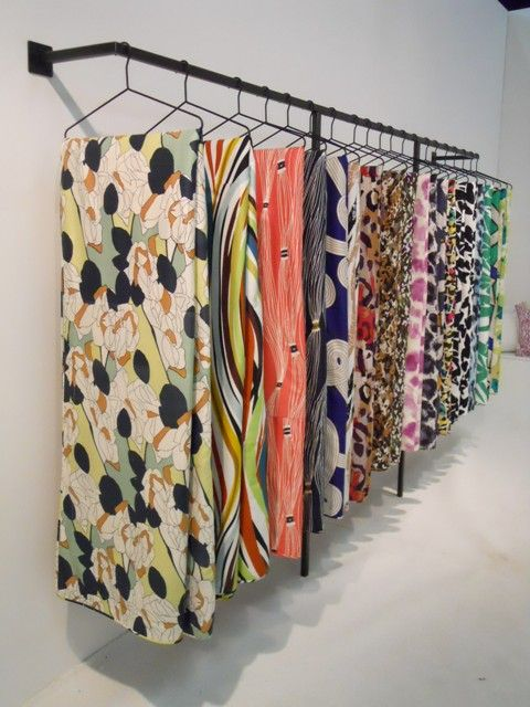 sewing studio #fabric #storage