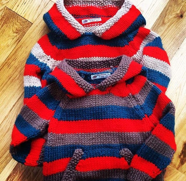 Chunky boys hoodies - love the stripes ❤️