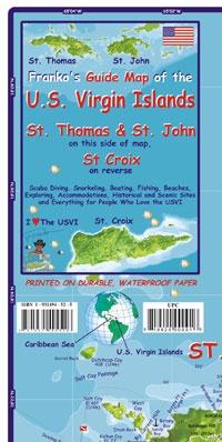 Best U S Virgin Islands Images On Pinterest Us Virgin - Us paper map thomas guide