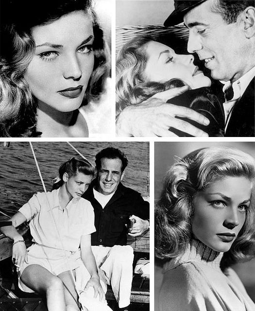 2.7.12 {great love stories № 12 | humphrey bogart & lauren bacall} by {this is glamorous}, via Flickr