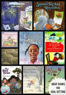 These book options are perfect for setting goals for the new year. Help your students identify with each character's strength and determination to achieve something new. For other ideas for goal setting, check out the rest of this post for Thematic Thursday on Comprehension Connection.