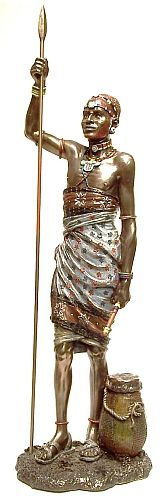 Dogo (Turkana Tribe) African Figurines ZA23813 | Products Offered | Auldco African Handcraft