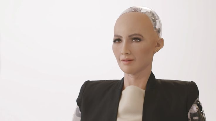 """In the latest example of """"Philip K Dick-inspired nightmare becomes real life,"""" Saudi Arabia just became the first nation to grant citizenship to a robot. The robot's name is Sophia. It is artificially intelligent, friends with CNBC's Andrew Ross Sorkin, and, arguably, a glimpse into the dark future that will kill us all."""