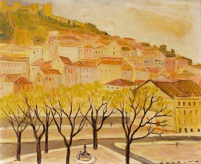 Oil Painting by Portuguese Artist Carlos Botelho