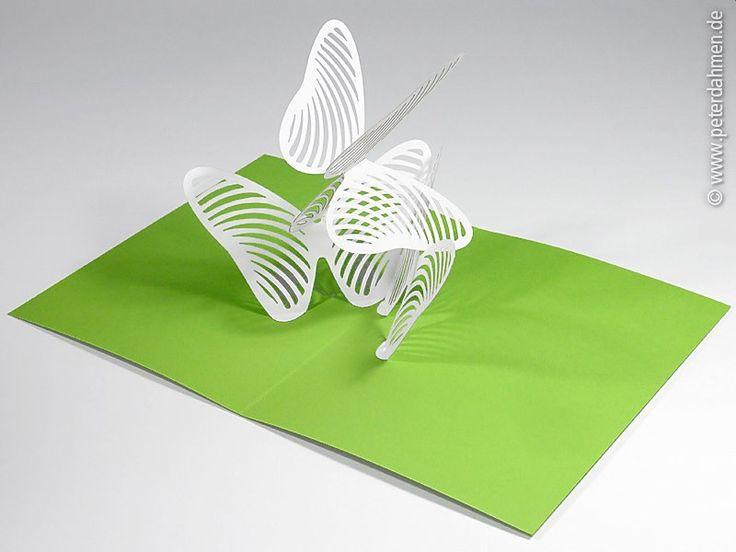 Best Popup Images On Pinterest Kirigami Popup And Paper Art - Elaborate pop paper sculptures peter dahmen