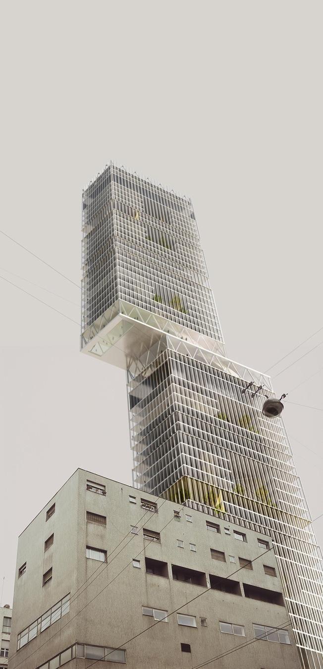 BAM!  Disgiunzione verticale . Milano Un invito a grattare il cielo stimola inevitabilmente la riflessione sul rapporto tra la città e la torre, in particolare sulla sostenibilità programmatica di un modello che, per quanto declinato nelle sue sfumature più green, resta un intruso del tessuto urbano.