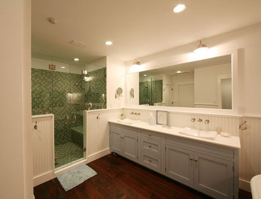 I really like the shower and double vanity here not for Dream bathrooms