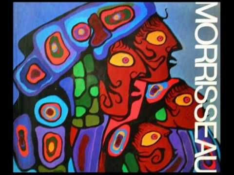 Norval Morrisseau An Aboriginal Canadian Artist The 'Picasso of the North' - YouTube