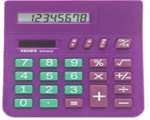 Call @ 9769465202. Get online Texet SL-020BLUE 8-Digit Dual Powered Best Desktop Calculator price at Rs.432/- only.