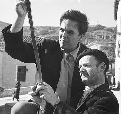 Alan Lomax in Spain, 1952. Alan Lomax (January 31, 1915 – July 19, 2002) spent almost 70 years as a folklorist and ethnographer, collecting, archiving, and analyzing folksongs and music in America. His career began in 1933, when his father, John Lomax, was asked to be the new head of the Archive of American Folk Song, which had been established at the Library of Congress in 1928. In this role, the elder Lomax took charge of a large repository of manuscripts and cylinders. Soon after taking…