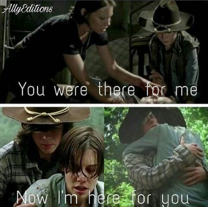 "Carl & Maggie S3 & S7: S7 E1 ""The Day Will Come When You Won't Be"""
