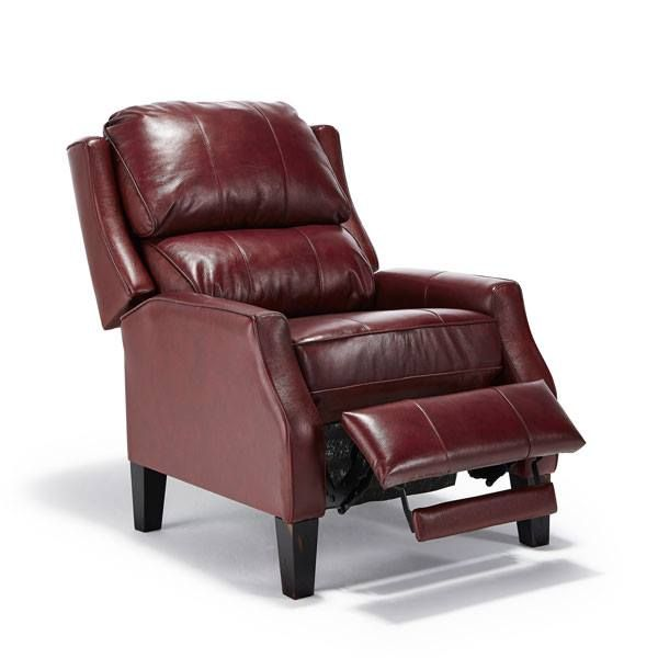 Elegant and solid this chair elevates the style of any room and because its a recliner in disguise it will elevate your legs as well the pauley by