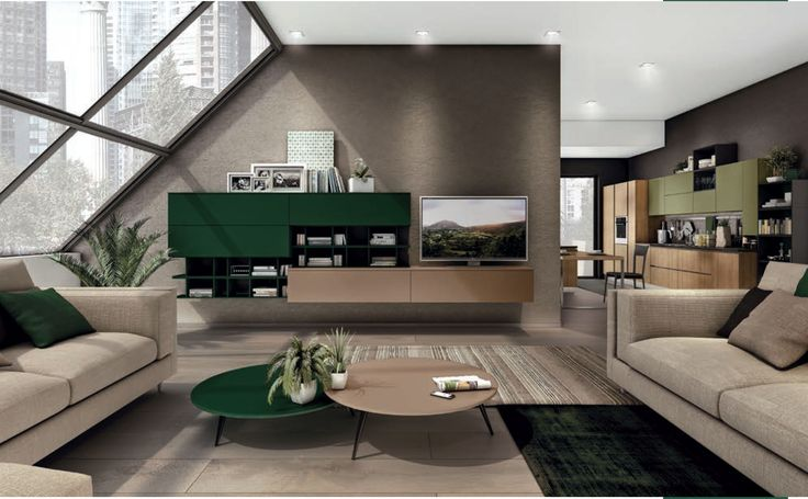 Green, Emerals, Cream, Light, Living Room, Lounge, Couches