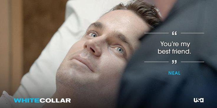 White Collar Series Finale. Neal tells Peter that he's his best friend. Tears were streaming down my face!