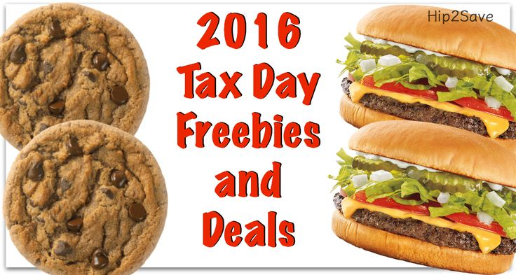 2016 Tax Day Restaurant Freebies and Deals