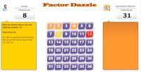 love2learn2day: Math Class 2013 factors multiplies primes interactive activities