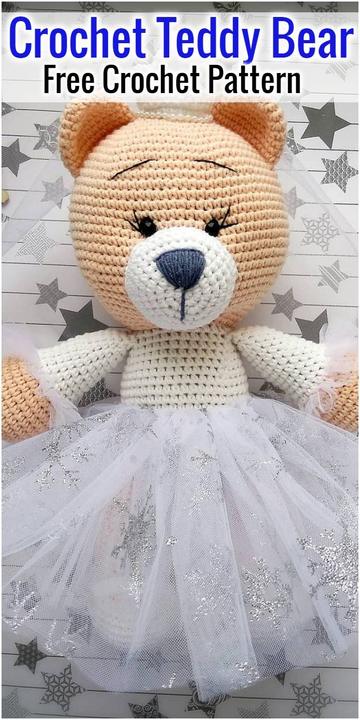 Free Crochet Bear Patterns – Amigurumi Patterns ... | 1400x700