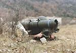 MILAN (Missile d'Infanterie Leger Antichar) portable anti-tank weapon
