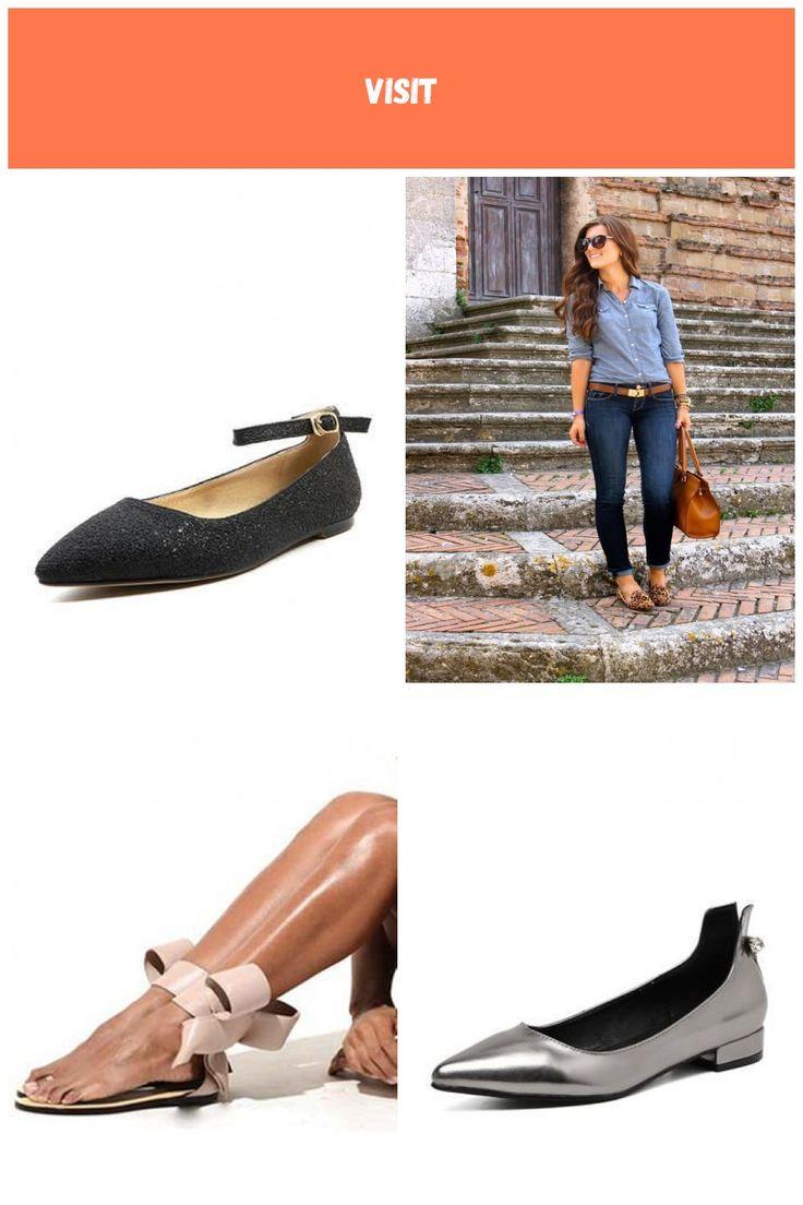 VERYVOGA Frauen Flache Schuhe Geschlossene Zehe Flascher Absatz PVC Schnalle Zus…