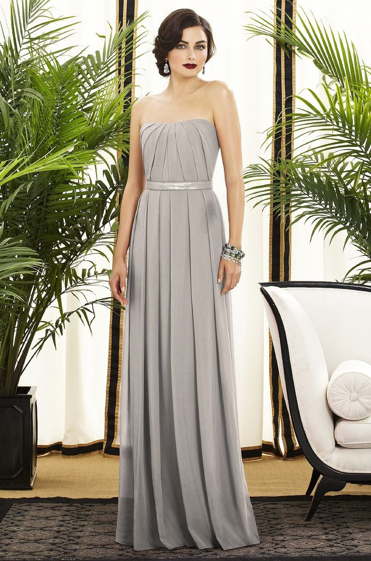 249 best GRAY BRIDESMAID DRESSES + WEDDINGS images on Pinterest