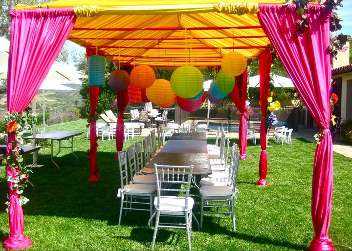 Cute Birthday Party Setup