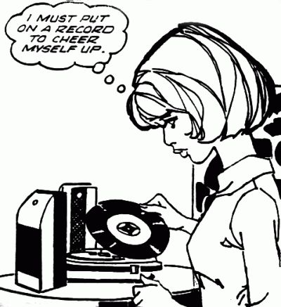 put the record on  ....tell me your favorite song, You go ahead let your hair down....   -Corinne Bailey Ray