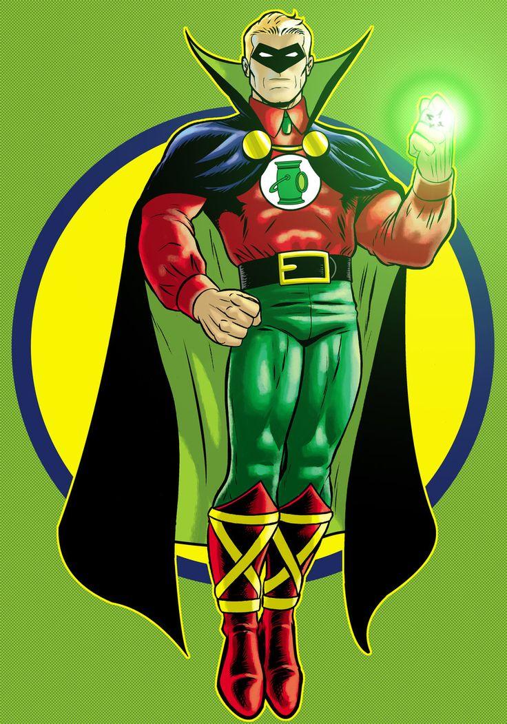 Alan Scott Green Lantern by Thuddleston.deviantart.com on @deviantART