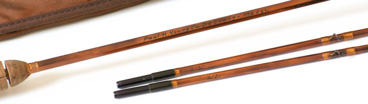 Young Paul H. -- Midge Bamboo Rod - Vintage Fly Tackle