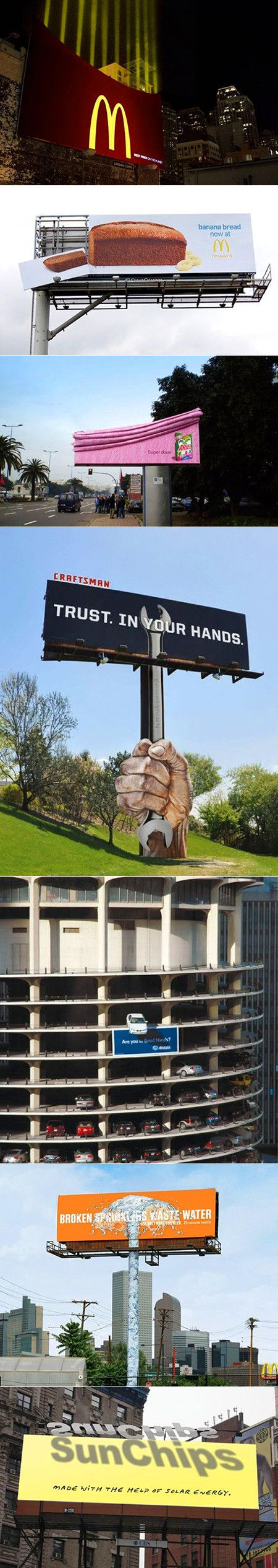 Most billboards are boring, these cool and geeky examples are most certainly not.