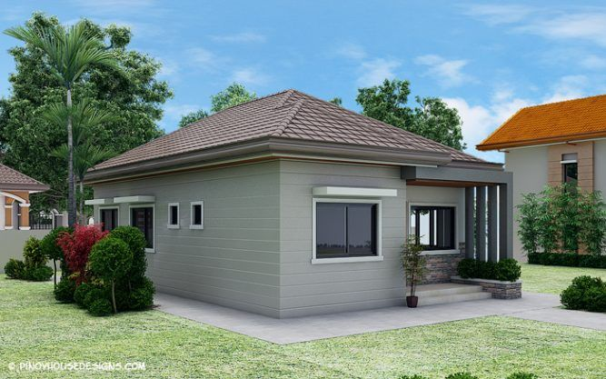 Simple 3 Bedroom Bungalow House Design Pinoy House Designs Pinoy House Designs Philippines House Design Simple House Design House Roof Design