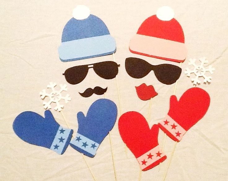 Photo Booth Props 12 pc Holiday Winter Photobooth Props Hat Mittens Snowflakes Ski Sport Photo Props Winter Photo Booth Props Ski Props by PimpYourParty on Etsy https://www.etsy.com/listing/170819621/photo-booth-props-12-pc-holiday-winter