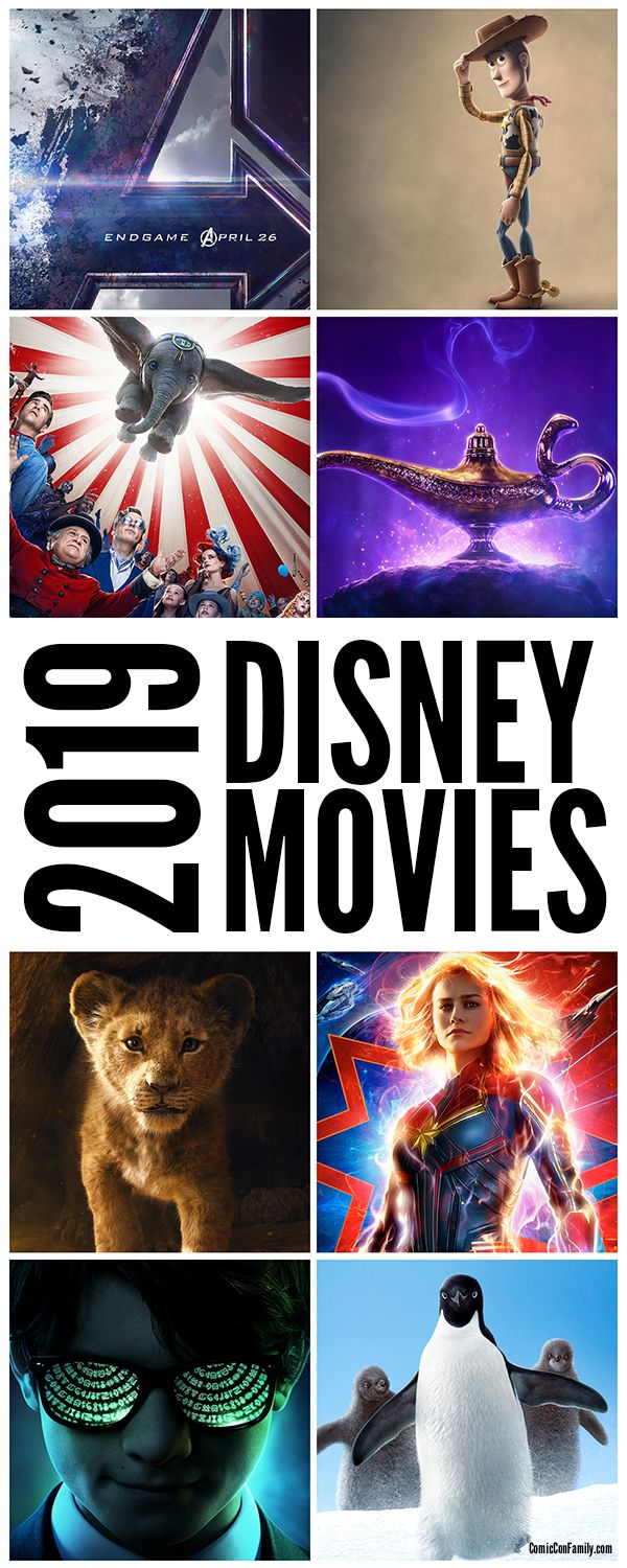 2019 List Of Disney Movies Trailers Release Dates Movie Posters More Comic Con Family Disney Movies List Disney Movies Movies