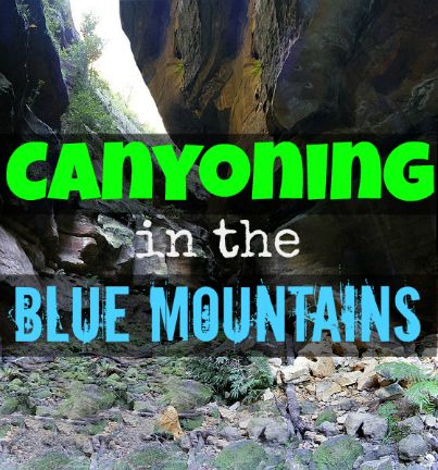 Hope you're not claustrophobic!  Welcome to the Grand Canyons of Blue Mountains, NSW: http://www.outdooroz.com.au/canyoning-in-the-blue-mountains-nsw/