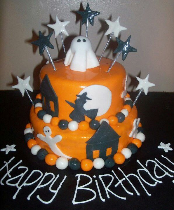 jaes tinkerbell cake loved this one find this pin and more on happy halloween birthday - Happy Halloween Birthday