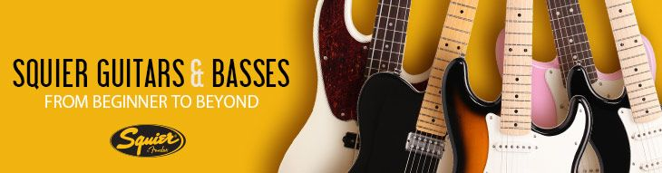 Squier Guitar and Bass Buying Guide