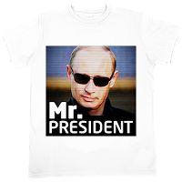 Прикольные подарки и гаджеты: Футболки с Путиным