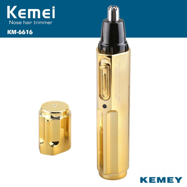 Kemei KM-6616 Fashion Electric Shaving Nose Hair Trimmer Safe Face Care Shaving Trimmer For Nose Trimer for Man and Woman #Affiliate