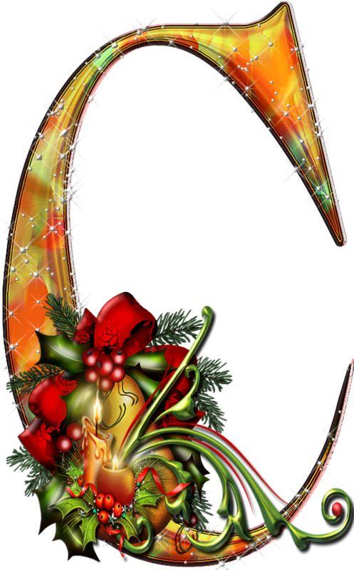 224 best alphabet christmas images on pinterest - Alphabet noel ...
