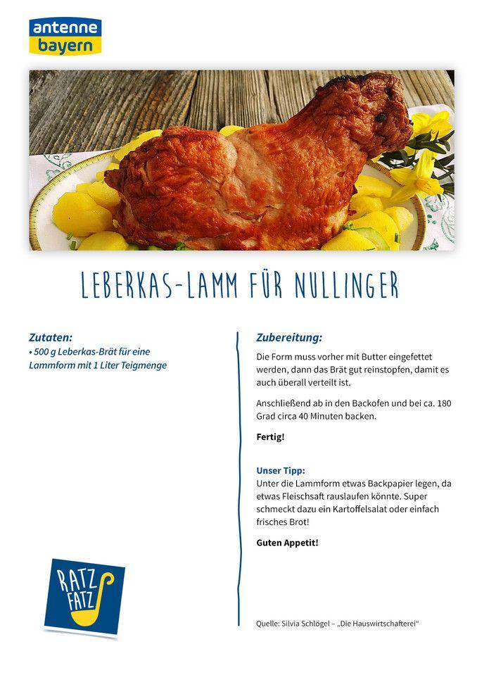 Ratz Fatz Leberkas Lamm Fur Nullinger Antenne Bayern Mit