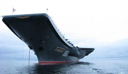 Бегство американского авианосца: чем «Адмирал Кузнецов» напугал «Джорджа Вашингтона» - Телеканал «Звезда»