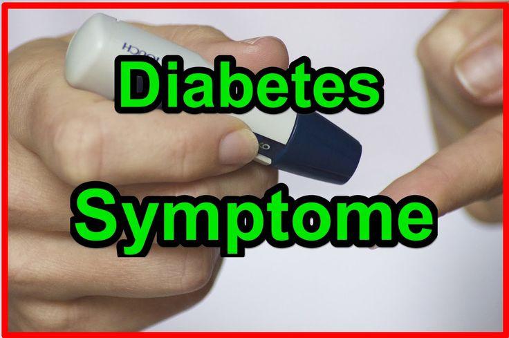 Diabetes Symptome-Symptome für Diabetes