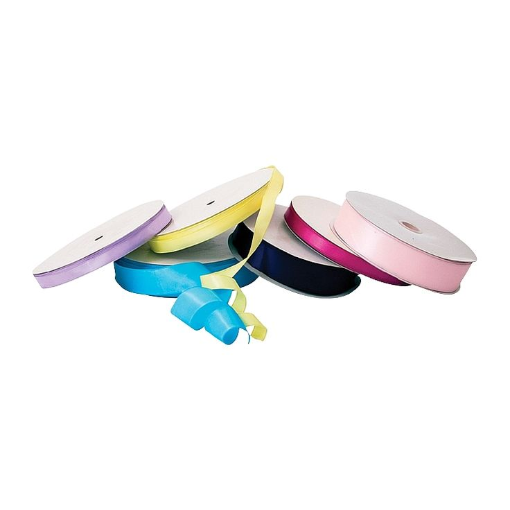 Satin ribbon is great for adding that extra touch for all of your packaging needs. This wired single face ribbon is easy to use and available in a range of colours and sizes.